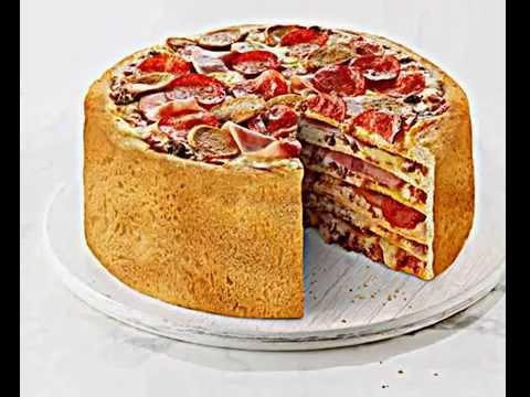 как приготовить торт пиццу
