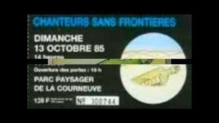 CHANTEURS SANS FRONTIERES. éthiopie ( 1985 )