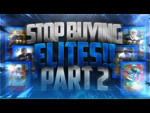 PART 2!! DON'T BUY ELITES! THEY'RE NOT WORTH BUYING...YET! Madden Mobile 18