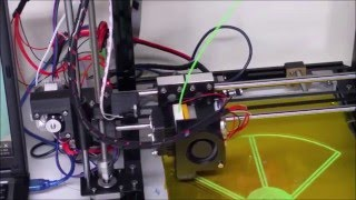 hictop prusa i3 auto leveling 3d printer my first prints review