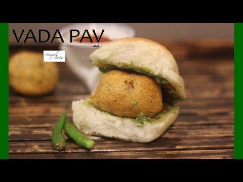 Vada Pav | How To Make Mumbai Vada Pav | Ganesh Chaturthi | Simply Jain