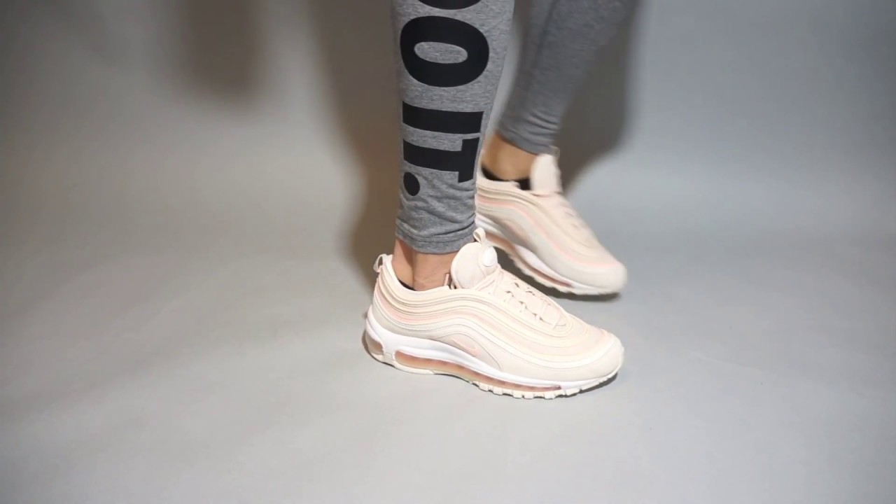 Nike Air Max 97 'Guava Ice' 921733 801 on feet