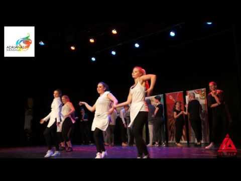 COMMERCIAL JAZZ, Adrianas Danshus Elevföreställning våren 2016
