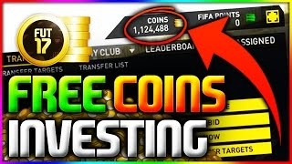 FIFA 17 | FREE COINS INVESTING - MAKE EASY COINS ON FIFA 17 INVESTING (*WHAT CARDS TO INVEST IN*)