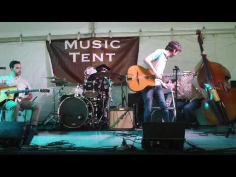 Rent party #1- Austin Book fair music tent 11-6-16