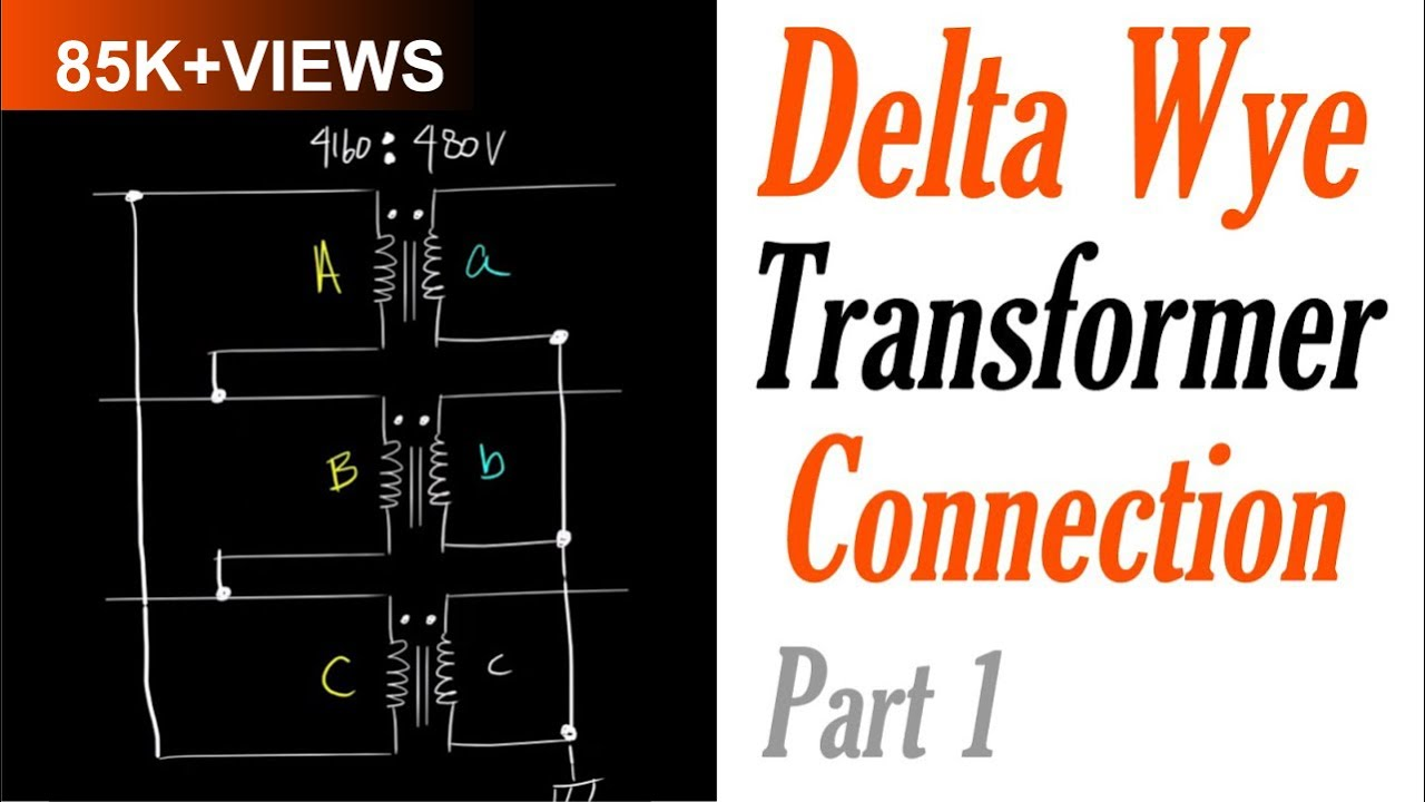 introduction to the delta wye transformer connection part 1 delta connection [ 1280 x 720 Pixel ]