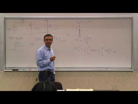 015. Time Domain Response: RC Step and Impulse Response
