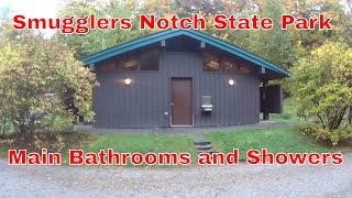 Smugglers Notch State Park Camp Ground Main Shower & Bathroom
