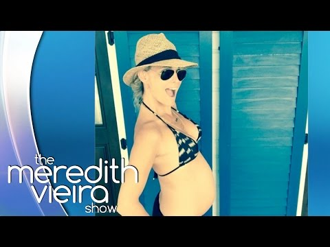 Molly Sims On Bahamas Bikini Buzz! | The Meredith Vieira Show