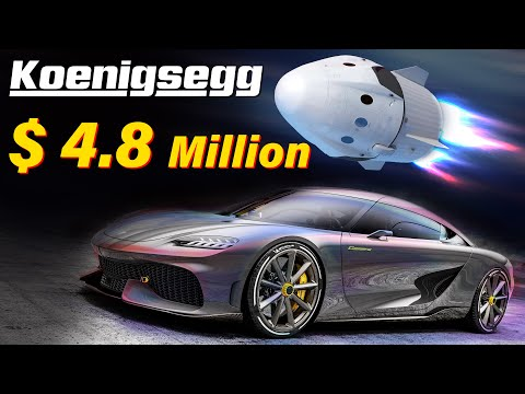 Here's Why Koenigsegg Car Costs $4.8 Million. It Drives Like a Rocket and is Worth the Cost.