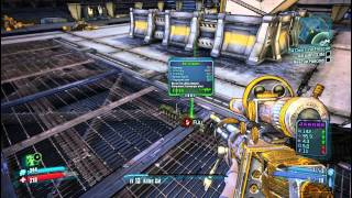 Borderlands 2 - Saving Roland/W4R-D3N Boss - Gameplay Guide