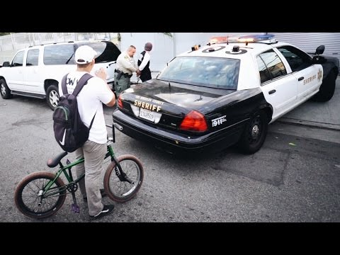 BMX vs COPS