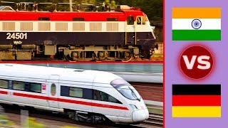 Indian Railways vs German Railways Comparison
