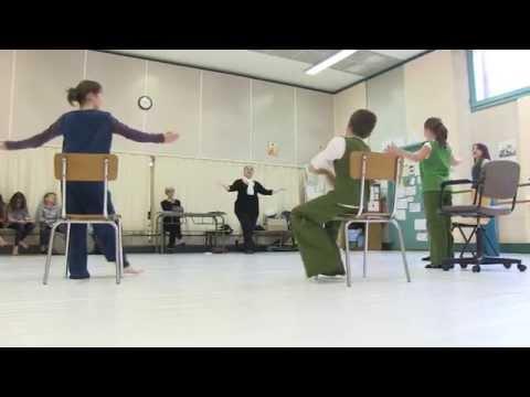 Des Cours d'Horaires Aménagés Théâtre pour les collégiens de Jean Rostand grâce au Conservatoire