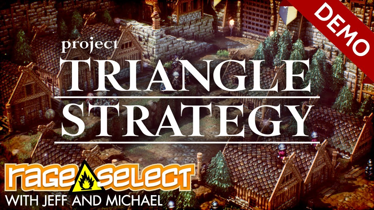 Project Triangle Strategy: Debut Demo (The Dojo) Let's Play