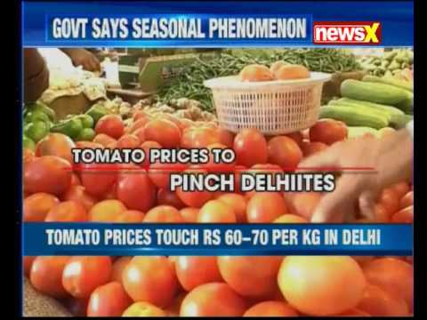 Tomato prices touch Rs 60-70 per Kg in Delhi due to crop damage