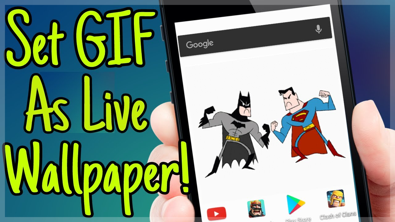 Set Gif As Live Wallpaper On Your Android 2017