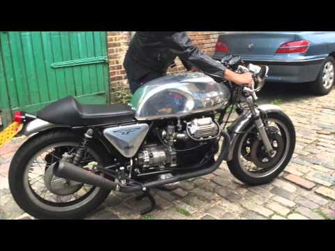 moto guzzi cafe racer for sale youtube. Black Bedroom Furniture Sets. Home Design Ideas