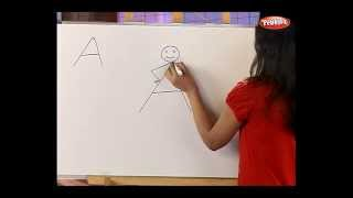 How to draw with alphabet - Fun with Alphabets - Drawing for kids