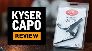 Kyser Capo KG6B Review