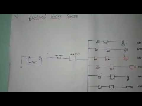 general electric wiring diagram auto car general electrical wiring diagram youtube  auto car general electrical wiring