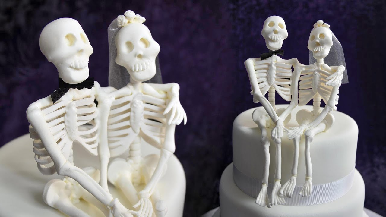 45d8a935820 Skeleton Couple Topper Tutorial - Sample - YouTube