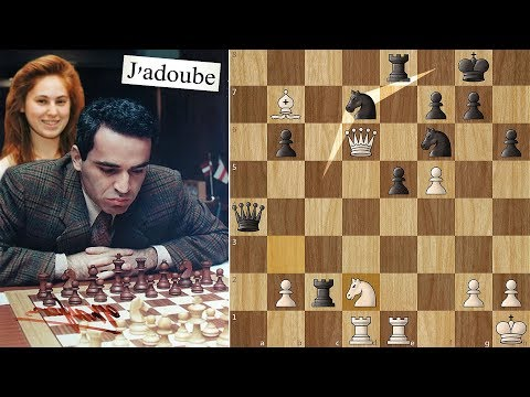 World Champion Takes back a Move against 17 Year old Judit
