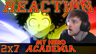 "My Hero Academia: Season 2 - Episode 7 REACTION ""POWER OF THE MIND!"""