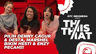 THIS OR THAT : MARSHEL WIDIANTO KLARIFIKASI VIDEO PAMIT KE HESTI & ENZY! GAK PILIH RAFFI AHMAD!!!