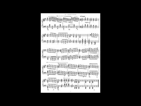 G.F.Händel/F.Liszt: Sarabande und Chaconne aus dem Singspiel Almira, S.181 (audio+sheet music)