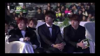 121214 INFINITE - Intro + The Chaser @2012 MelOn Music Awards