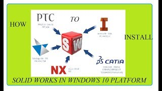 Install Solid works 2014 in windows 10 OS with crack || 64 bit