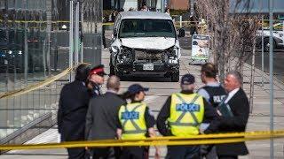 Nine Dead After Van Hits Pedestrians In Toronto Itv News