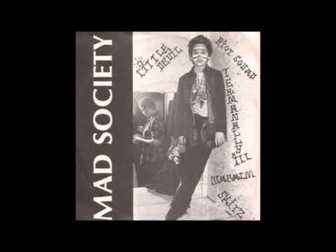 Mad Society - Skitz. 1981 US