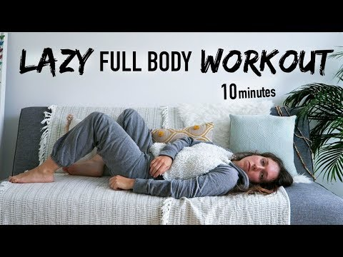 LAZY COUCH/BED POTATO WORKOUT (100% lying down)» ATFAC DAY 17