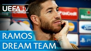 Sergio Ramos: My dream five-a-side