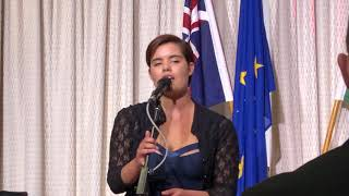 'Fall in' by Esperanza Spalding - Concert at the Hungarian Embassy