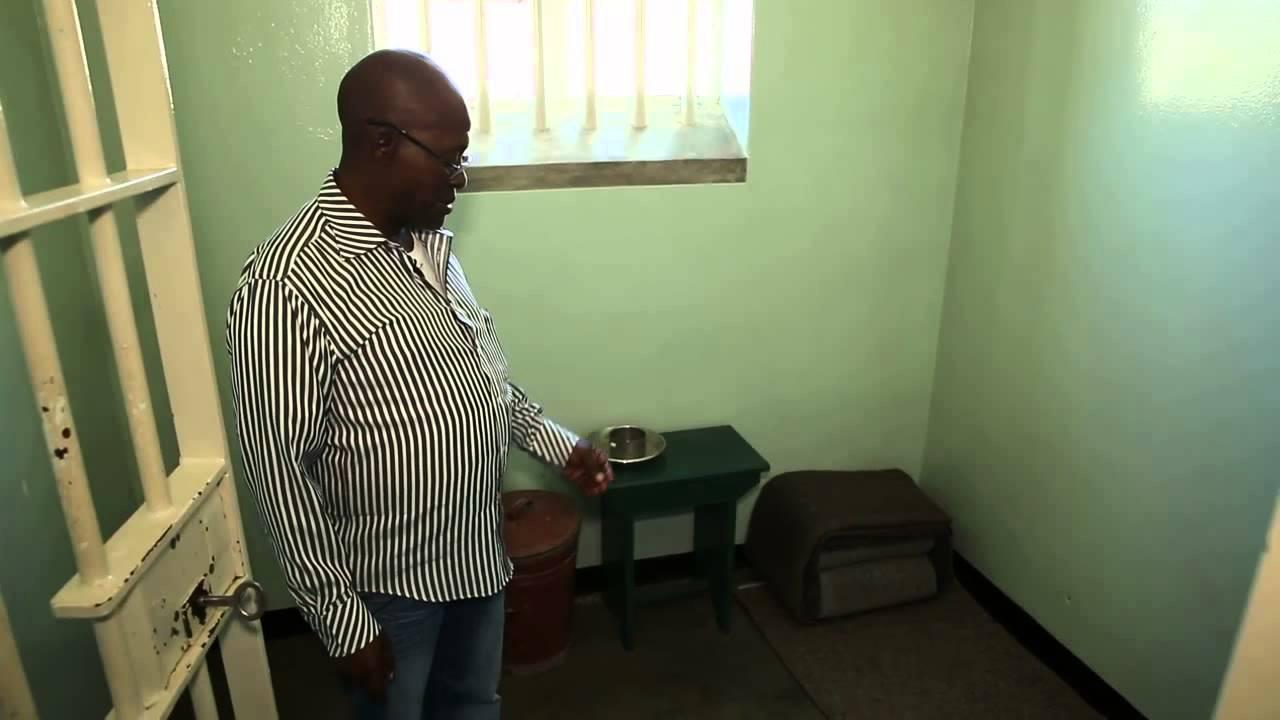 Robben Island Prison - Nelson Mandela's Cell