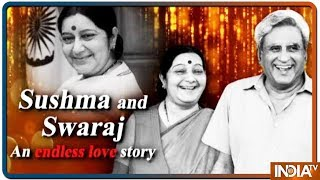 Sushma Swaraj's endless love for her husband Swaraj Kaushal, a heart touching story