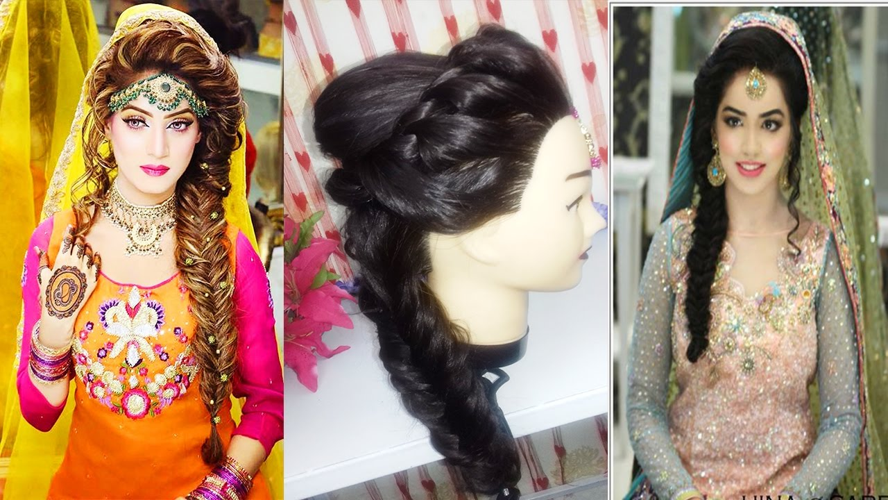 wedding hairstyle bridal