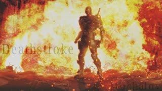 атр Дефстроука из DC(Deathstroke speed photoshop)