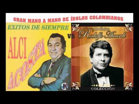 Gran mano a mano de Alci Acosta vs Rodolfo Aicardi, ídolos colombianos