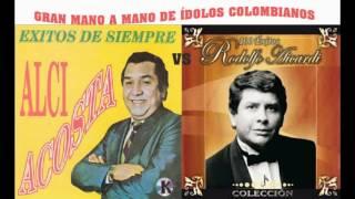 Video Gran mano a mano de Alci Acosta vs Rodolfo Aicardi, ídolos colombianos download MP3, 3GP, MP4, WEBM, AVI, FLV Agustus 2018