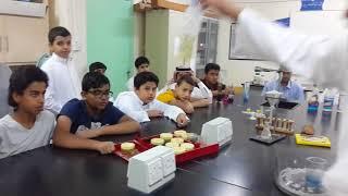 فعاليات أسبوع الكيمياء العربي بمدارس الرواد بريدة خلال المدة من 1 - 7 / 2 / 1439