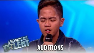 Rodelle Borja: SHY Filipino SHOCKS With An UnExpected Audition! | Ireland's Got Talent 2019
