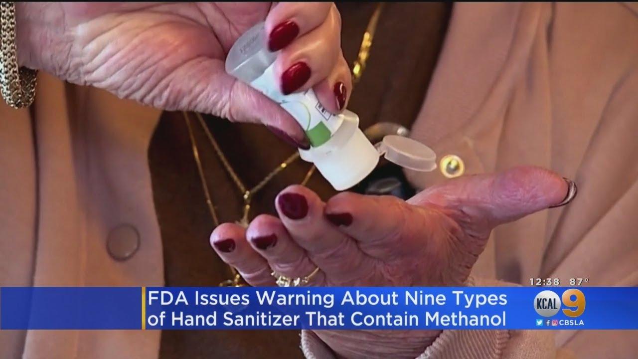 FDA Warns 9 Hand Sanitizer Brands Containing Toxic Methanol ...
