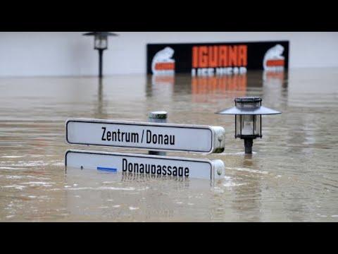 Hochwasserkatastrophe: Schwere Unwetter auch in Bayern und Sachsen