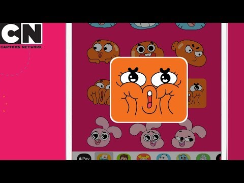 Cartoon Network Moji App | Cartoon Network UK (UK Flag)| Ad Feature