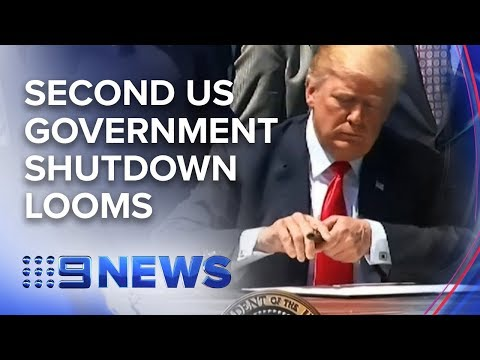 US Government shutdown looms | Nine News Australia