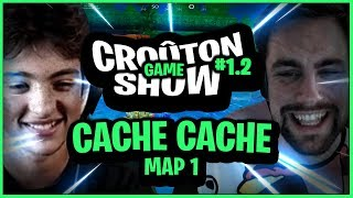 Cachez-vous !! Map cache-cache : La foret dans Zelda sur Fortnite Créatif - Croûton Game Show #1.2